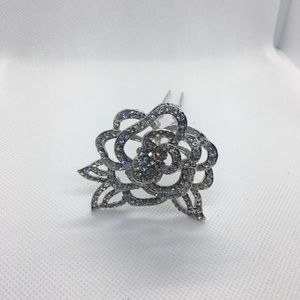 Bridal/Wedding Rose Hair Pin
